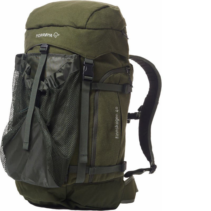 Finnskogen Integral Pack 40L, Green