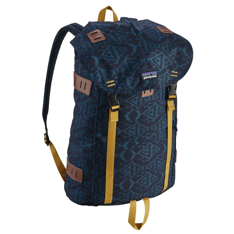 Arbor Pack 26L OneSize, Ikat Fish Small: Bay Blue