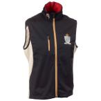 Stoneham softshell vest unisex black beige
