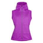 Norrona lyngen alpha100 vest w pumped purple