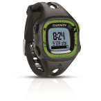Garmin forerunner 15 black green