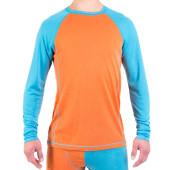 Urberg men s merino roundneck blue orange