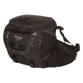 Bergans tydal hip pack 11l black solid light grey