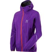 Haglofs l i m proof q jacket imperial purple