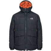 Urberg warm ripstop jacket black orange