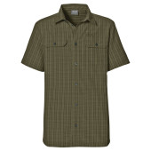Jack wolfskin thompson shirt men burnt olive checks