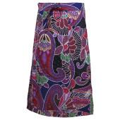 Skhoop summer long skirt clover pattern