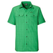 Jack wolfskin thompson shirt men s seagrass checks