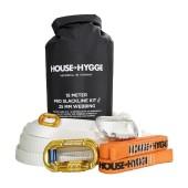 House of hygge 15m slackline kit 25mm webbi white