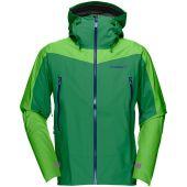 Norrona falketind gore tex jacket m chrome green