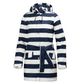 Helly hansen w lyness insulated coat evening blue stripe