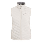 Peak performance women s frost down liner vest offwhite