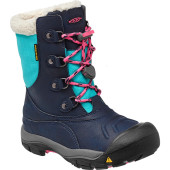 Keen basin wp youth dress blue rose