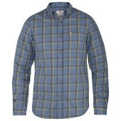 Fjallraven ovik flannel shirt ls uncle blue