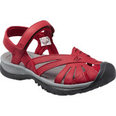 Keen rose leather red dahlia garg