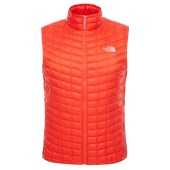 The north face m thermoball hybrid vest eu fiery red