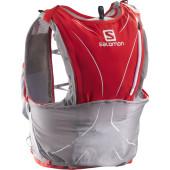 Salomon s lab adv skin 12set racing red aluminium