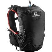 Salomon skin pro 15 set black bright red