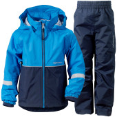Didriksons kooruna kids set sharp blue