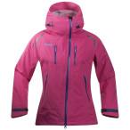Bergans glittertind lady jacket hot pink blue bright seablue