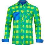 Ortovox men s rock n wool cool shirt long sl happy green