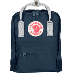 Fjallraven kanken mini navy white