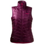 Bergans valdres lt ins lady vest plum hot pink