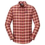 Jack wolfskin edmont shirt men olive brown checks