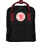 Fjallraven kanken mini black oxred