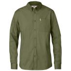 Fjallraven ovik solid twill shirt ls c01 green