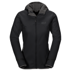 Jack wolfskin glacier valley ii jacket w black