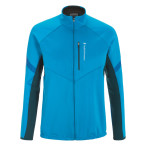 Peak performance men s crest wind jacket mosaic blue