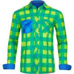 Ortovox men s rock n wool cool shirt long sl happy green