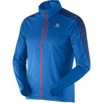 Salomon fast wing jacket m union blue midnight blue