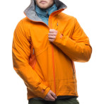 Houdini m s fusion jacket soalr orange firefox