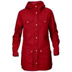 Fjallraven greenland parka light women deep red