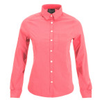 Peak performance women s diosaz checked ls shirt bloody checked