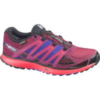 Salomon x scream gtx w bordeaux papaya b spectrum blu
