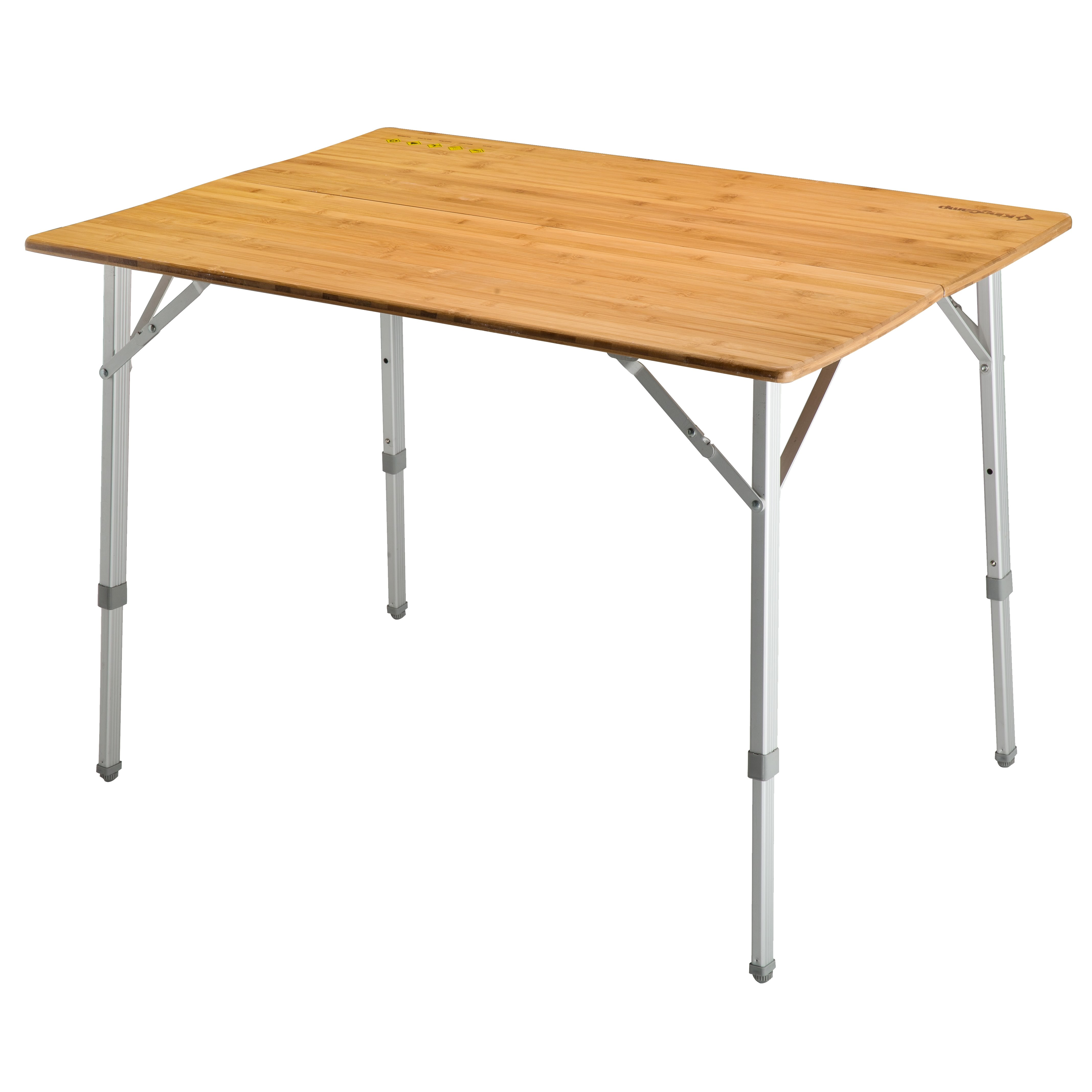 Buy Kingcamp Bamboo Folding Table from Outnorth